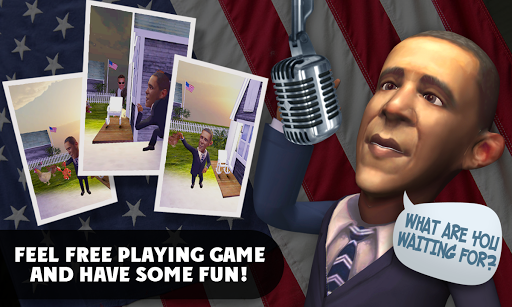 無料休闲Appのトーキングステーツマンオバマ|記事Game