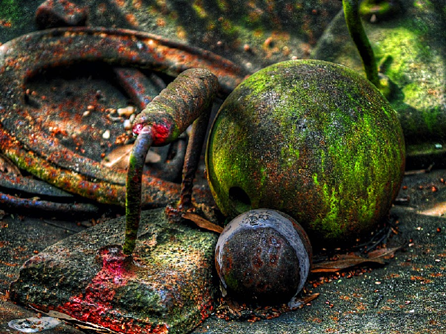 From The Junkyard by Mark Luftig - Artistic Objects Other Objects ( time scars,  )