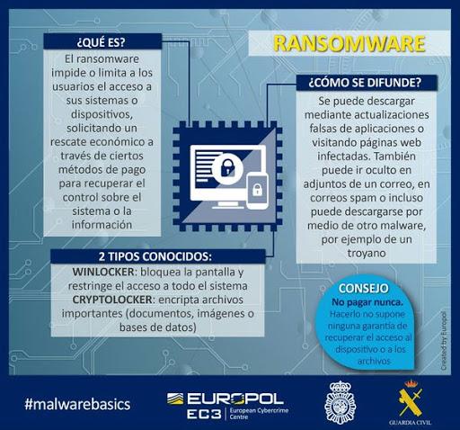 Policia y secuestro de ordenadores