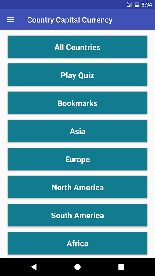Country Capitals And Currency Android Apps On Google Play - Capital city of different countries