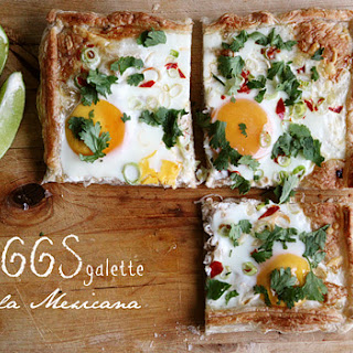 Gustavo Montoya – Eggs Galette à la Mexicana