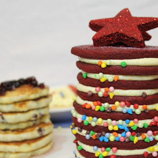 Christmas Pancake Stack