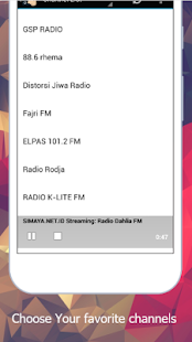 Easy Listening Radio Stations - náhled