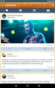 BandFriend - Musicians Network- screenshot thumbnail