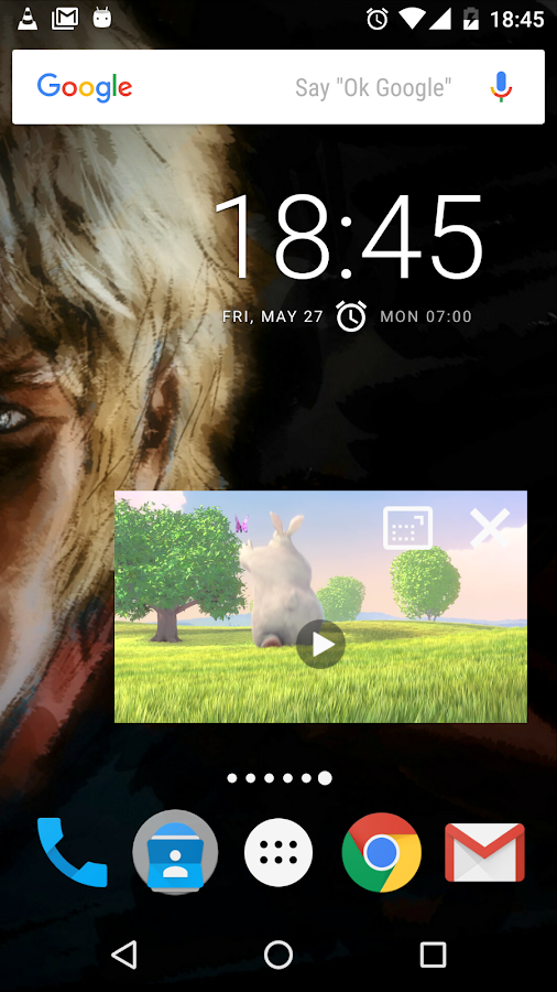 VLC for Android – zrzut ekranu