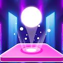 Tiles Hop Ball - Neon EDM Rush icon