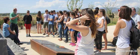 Photo: 30.05.2015.- Visita alumnado Lycée René Cassin de Bayona. Piámide 545