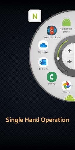 Wheel Launcher a free customizable sidebar screenshots 2