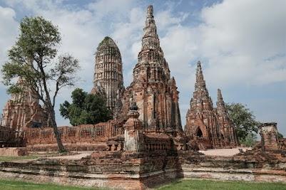 Wat Chai Watthanaram in Ayutthaya