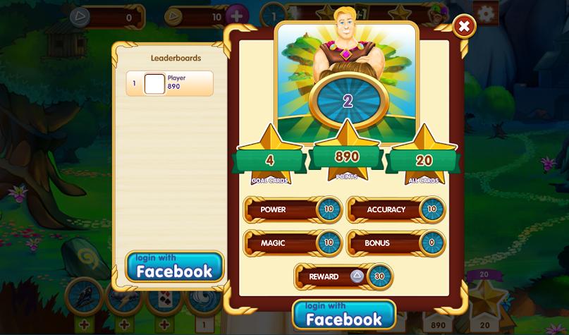Paradise Solitaire Screenshot