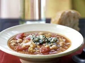 Fireman Bob's Spicy Garbanzo Bean Soup Recipe