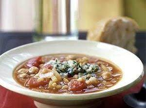 Fireman Bob's Spicy Garbanzo Bean Soup Recipe