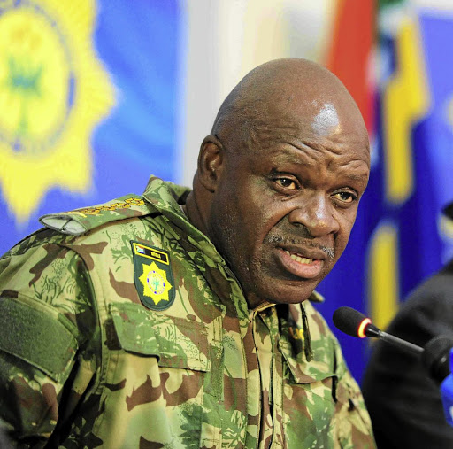 National Police Commissioner General Khehla Sitole.