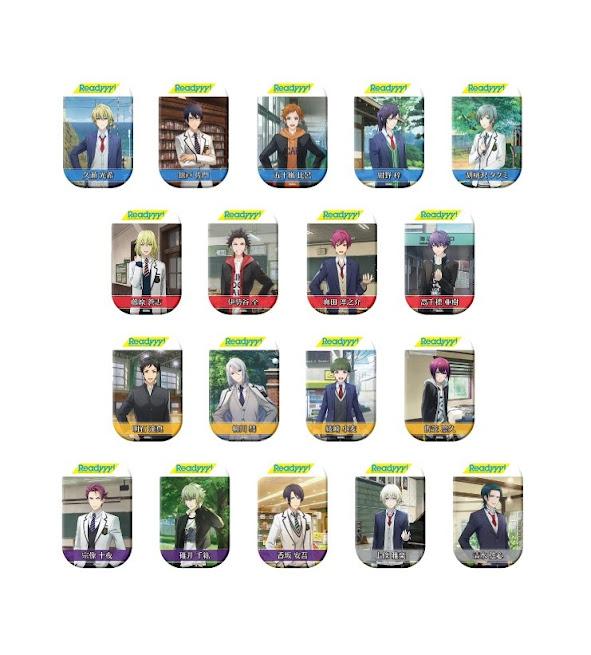 【画像】『Readyyy!』 キャラ缶バッジコレクション vol.1(全18 種ブラインド)