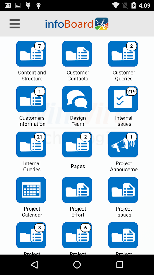 SharePoint infoBoard Basic- screenshot