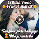 Download My Photo Lyrical Video Status Maker For PC Windows and Mac