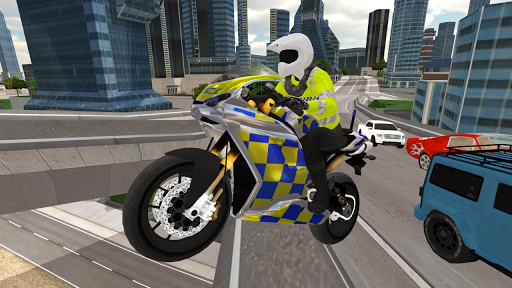 Police Motorbike Simulator 3D  screenshots 1