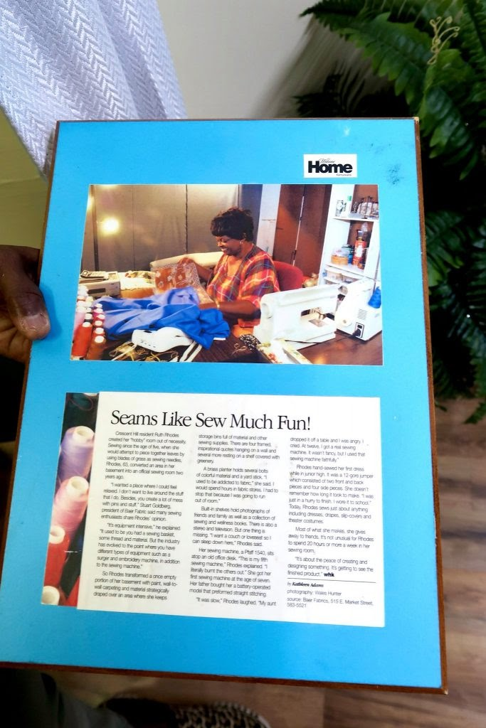 It's a Stitch: Framed Article