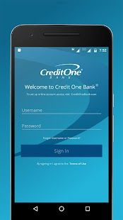 Credit One Bank Mobile- screenshot thumbnail
