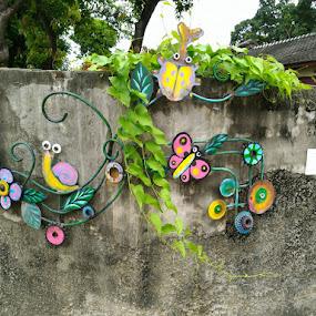 by Tiffany Wu - City,  Street & Park  Vistas