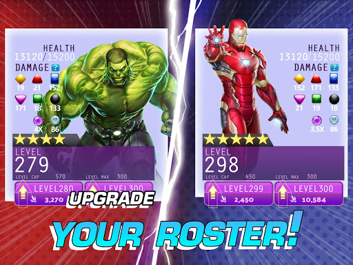 MARVEL Puzzle Quest: Join the Super Hero Battle! 207.535654 screenshots 14