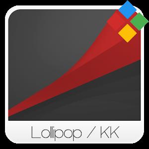 Dark Lollipop - Red Theme