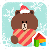 Christmas LINE Launcher theme