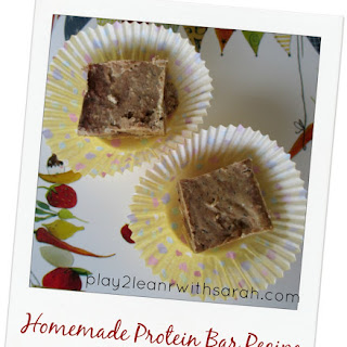 No-Bake Nut Butter Cacao Chip Protein Bars.