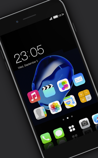 Stylish launcher theme for New iphone 7 2.1.7 screenshots 10