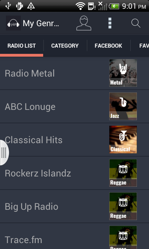 My Genre Radio- screenshot