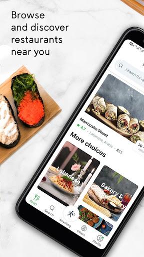 Careem NOW: Order food & more screenshots 1