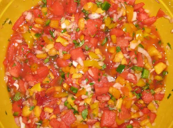 Ree-elle Watermelon Salsa Recipe