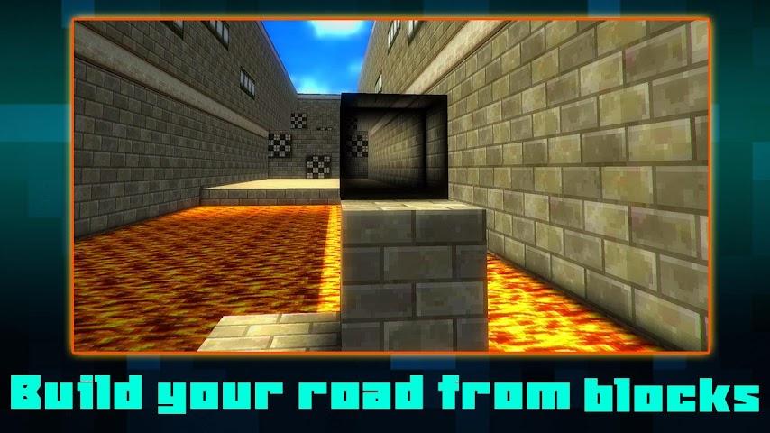 android Maze Climb Craft: Build Block Screenshot 1