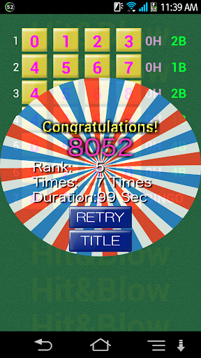 Hit & Blow 1.0.3 Windows u7528 3