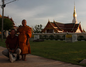 Photo: Day 348 - Wat Phra That Choeng Chum Woraviharn and Rog and Monk