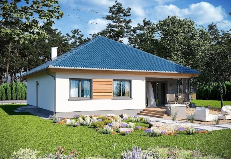 Projekt domu Tryton