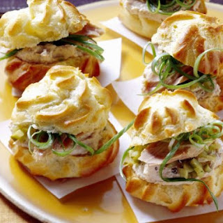 Tuna Profiteroles