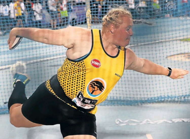 Shot put and discus star Ischke Senekal was named Sportswoman of the Year at the Madibaz Sport gala awards evening