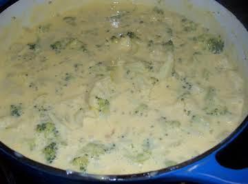 Cheesy Floret Soup