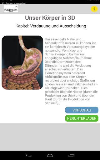 玩免費醫療APP|下載Unser Körper in 3D app不用錢|硬是要APP