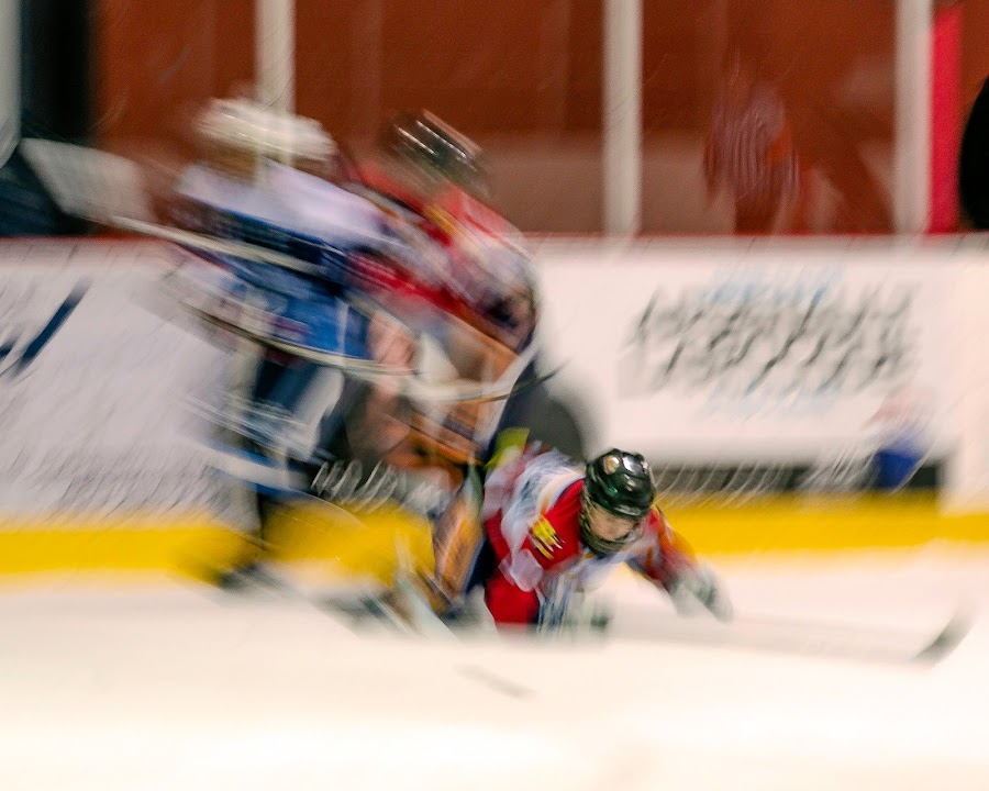 Hockey as Digital Art... by Claude Desrosiers - Sports & Fitness Ice hockey ( hockey, sticks, skates, puck, ice, sport )