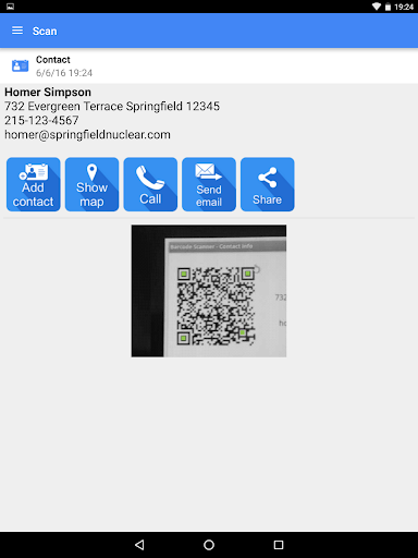 QR & Barcode Scanner PRO Apps for Android screenshot