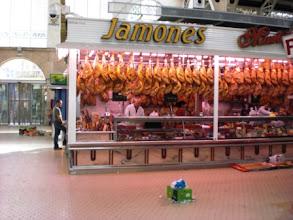 Photo: 10.03.09 Schnuppertour Valencia: Mercado Central (Hauptmarkt) (Urheberrecht W. Pfeuffer)