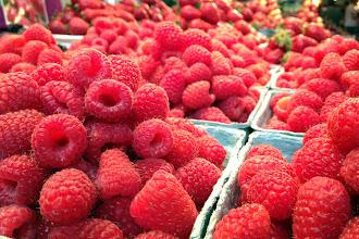 Photo: Fresh berries from Granville Island Public Market