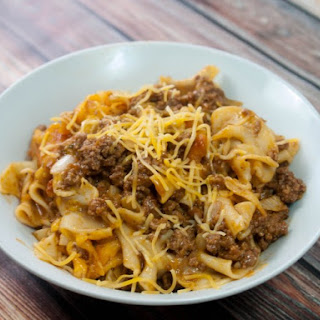 Italian Ground Beef Casserole Recipe