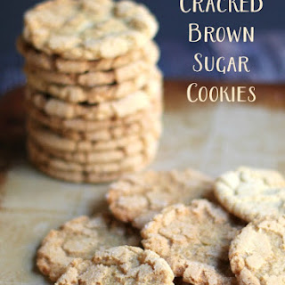 Cracked Brown Sugar Cookies