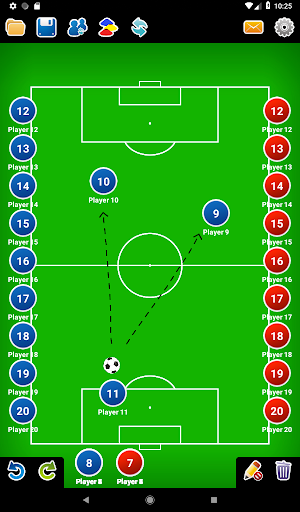 Coach Tactic Board: Soccer 1.2.2 screenshots 12
