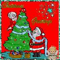 Christmas Greetings Free icon