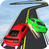 Impossible Stunts Racing Car Free: 3D Sky Tracks