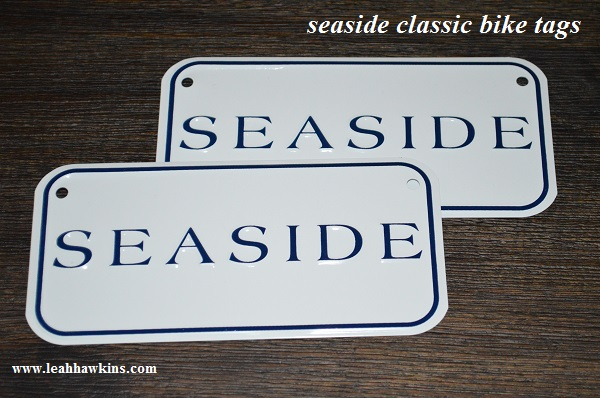 seaside classic bike tags